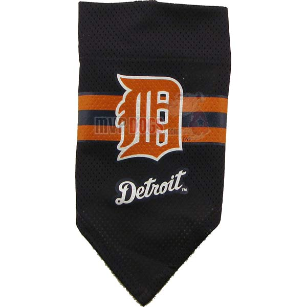 Detroit Tigers MLB Dog Bandana