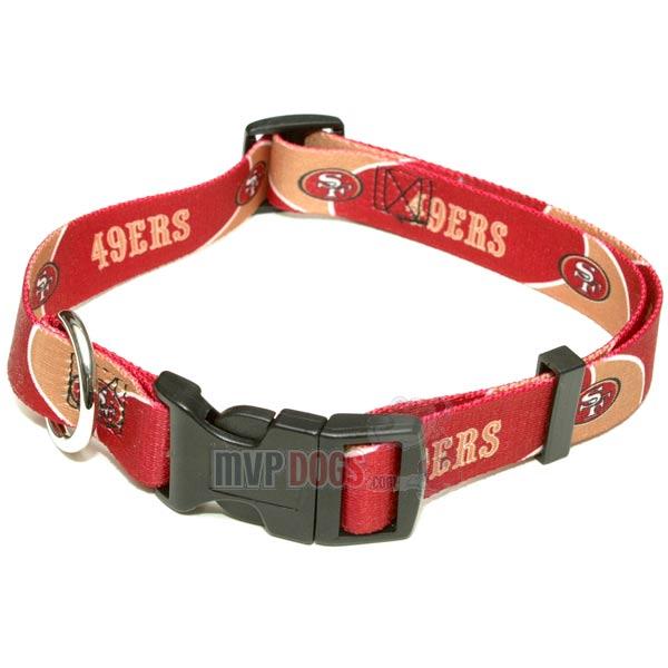 San Diego Chargers Dog Collar: San Francisco 49ers NFL Dog Collar
