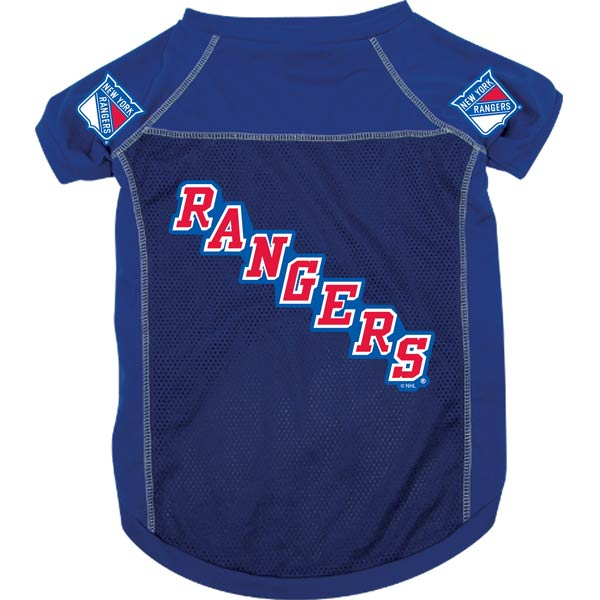 New York Rangers NHL Dog Jersey