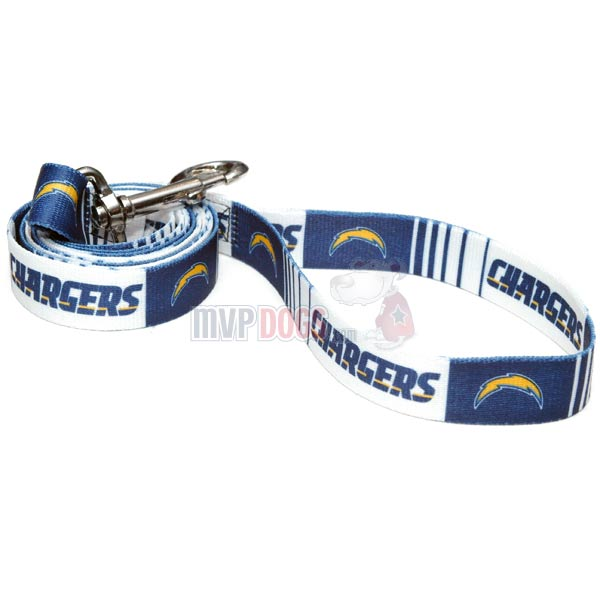 San Diego Chargers Dog Collar: Los Angeles Chargers NFL Dog Leash