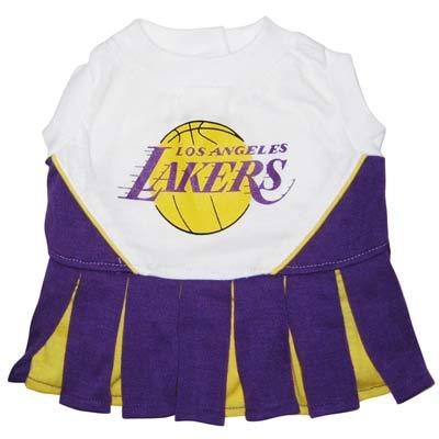 Lakers Cheerleader Dog Dress