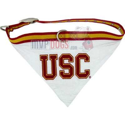NCAA dog Collar Bandana