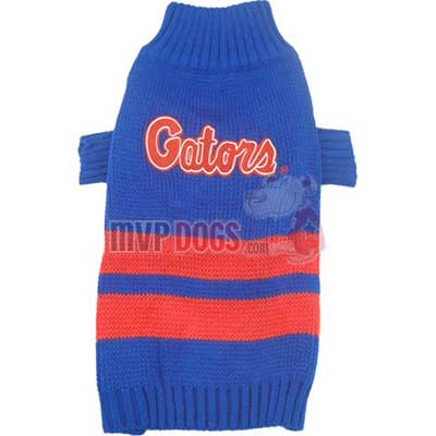 Gators Dog Sweater