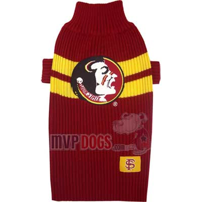 Seminoles Dog Sweater