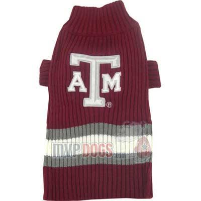 A&M Dog Sweater