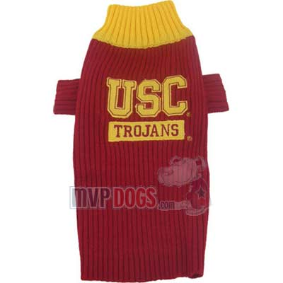 Trojans Dog Sweater