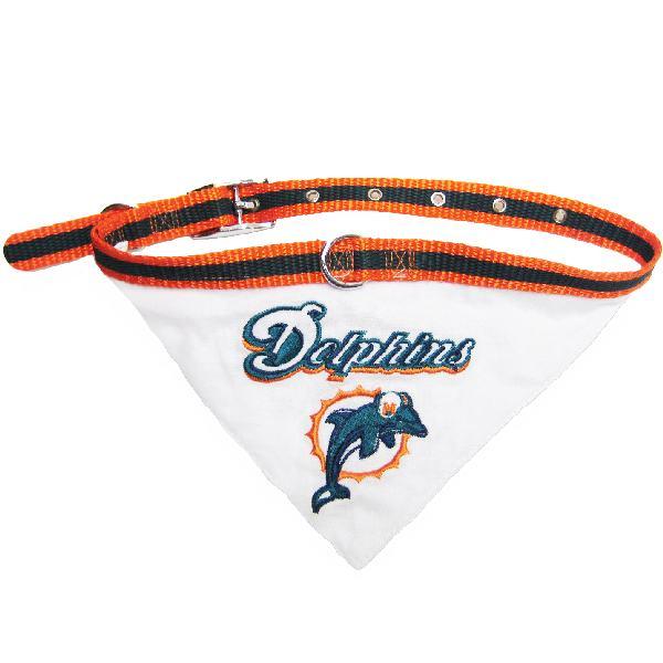 Miami Dolphins Small Dog Collar