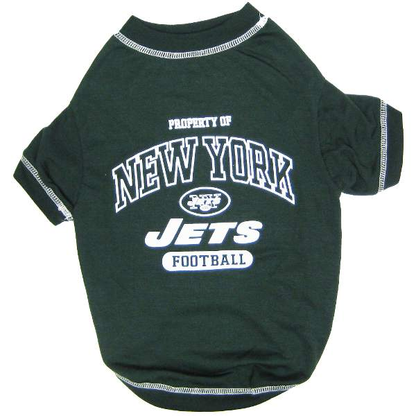 New York Jets NFL Dog Tee Shirt