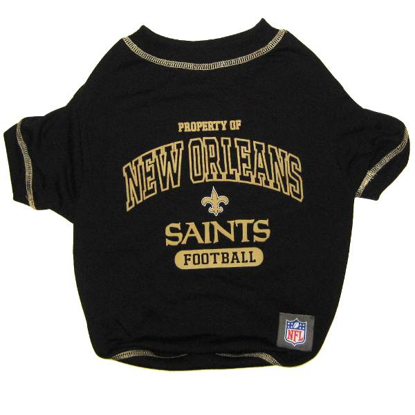 New orleans saints nfl dog tee shirt for New orlean saints shirts