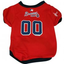 Atlanta Braves MLB Dog Jersey
