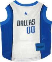 Dallas Mavericks NBA Dog Jersey