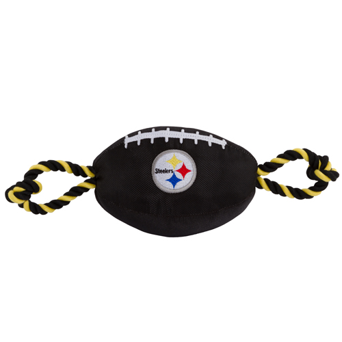 Pittsburgh Steelers NFL Dog Football Toy