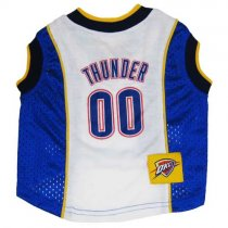 Oklahoma City Thunder NBA Dog Jersey