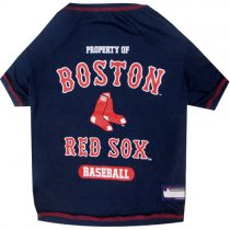 Boston Red Sox MLB Dog Tee Shirt