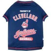 Cleveland Indians MLB Dog Tee Shirt