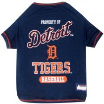 Detroit Tigers MLB Dog Tee Shirt
