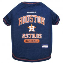 Houston Astros MLB Dog Tee Shirt