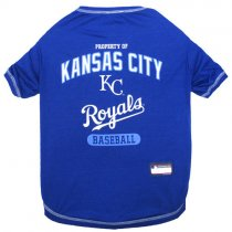 Kansas City Royals MLB Dog Tee Shirt