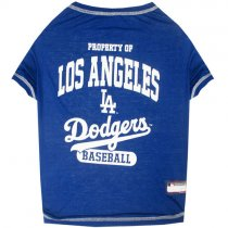 Los Angeles Dodgers MLB Dog Tee Shirt