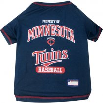 Minnesota Twins MLB Dog Tee Shirt