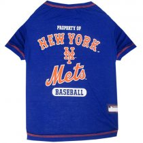 New York Mets MLB Dog Tee Shirt