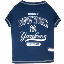 New York Yankees MLB Dog Tee Shirt