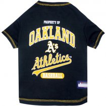 Oakland Athletics MLB Dog Tee Shirt