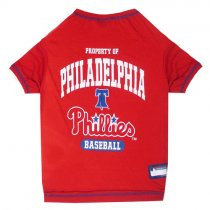 Philadelphia Phillies MLB Dog Tee Shirt