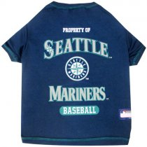 Seattle Mariners MLB Dog Tee Shirt