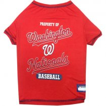 Washington Nationals MLB Dog Tee Shirt