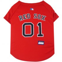 Boston Red Sox MLB Dog Jersey