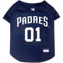 San Diego Padres MLB Dog Jersey