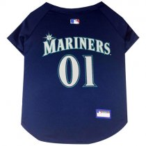 Seattle Mariners MLB Dog Jersey