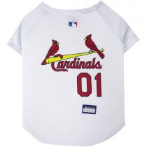 St. Louis Cardinals MLB Dog Jersey
