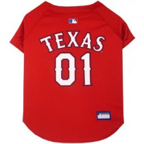 Texas Rangers MLB Dog Jersey
