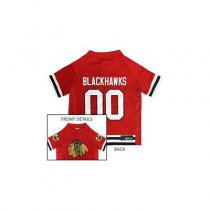 Chicago Blackhawks NHL Dog Jersey