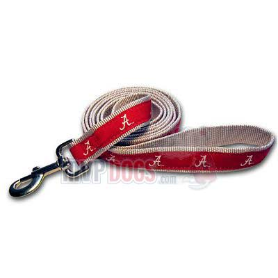 Alabama Crimson Tide Woven Ribbon Leash