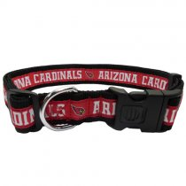 Arizona Cardinals Woven Dog Collar