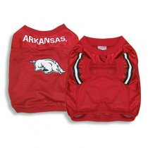 Arkansas Razorbacks Official Replica Dog Jersey