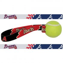 Atlanta Braves Dog Tennis Ball Toy