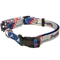 Atlanta Braves MLB Dog Collar
