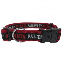 Atlanta Falcons Woven Dog Collar