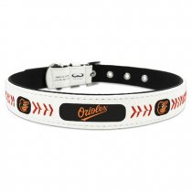 Baltimore Orioles Leather Baseball Collar