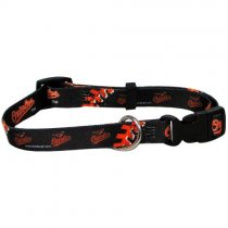Baltimore Orioles MLB Dog Collar - L: 18-26″ length, 1″ width