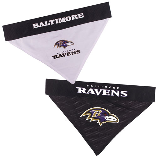 Baltimore Ravens NFL Reversible Dog Bandana