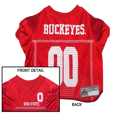 Buckeyes NCAA Dog Jersey