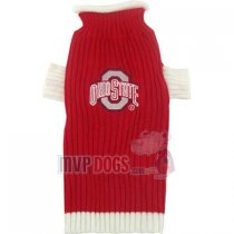 Buckeyes NCAA Dog Sweater