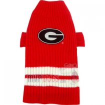 Bulldogs NCAA Dog Sweater