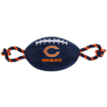 Chicago Bears NFL Dog Football Toy