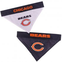 Chicago Bears NFL Reversible Dog Bandana